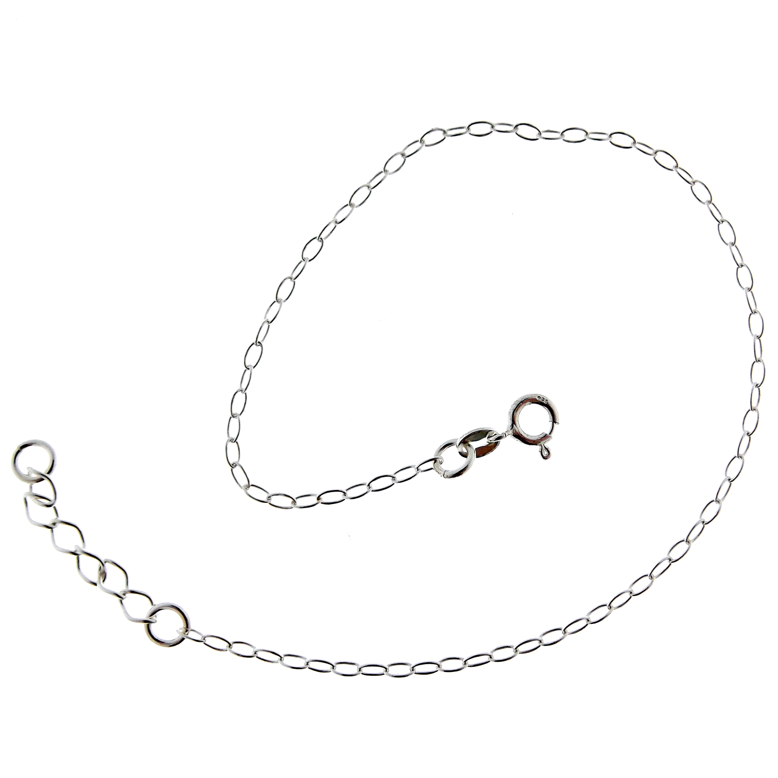 c gold n i you qvc l moon to bracelet anklet com white back ankle love the g chain jewelry bracelets