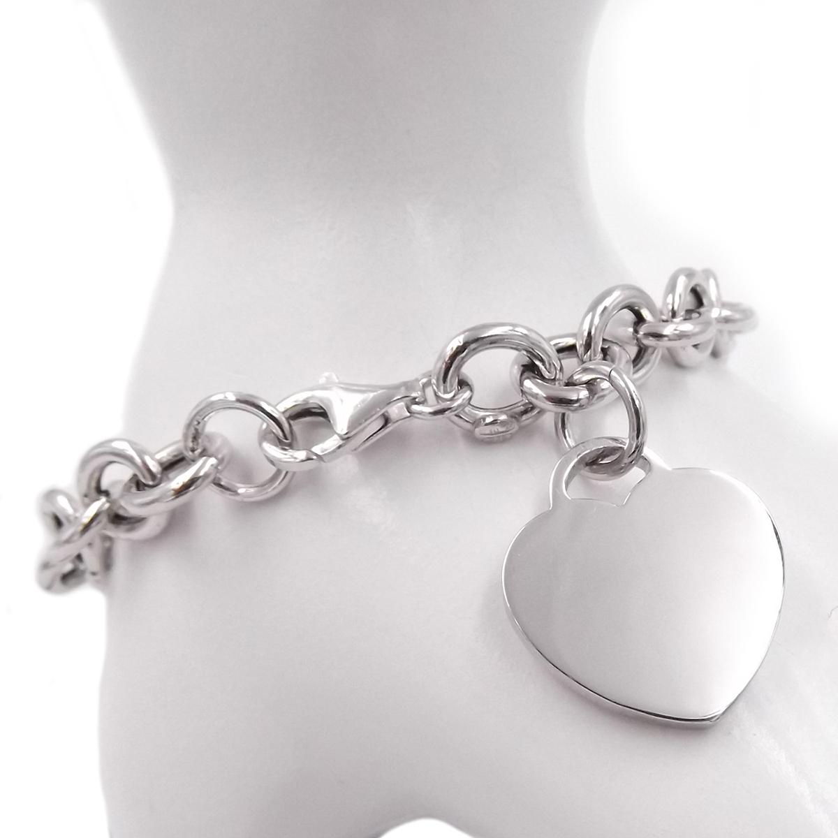 Damenarmband Silber Pl Anhänger Herze  Schmuck Bettelarmband Neu
